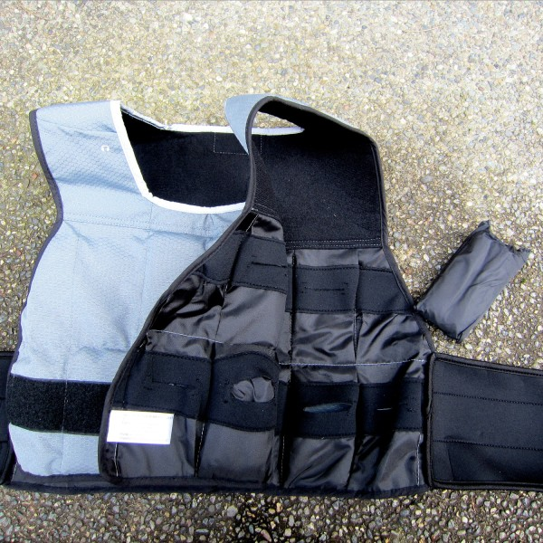 Perfect Weight Vest Inside Weight Pockets
