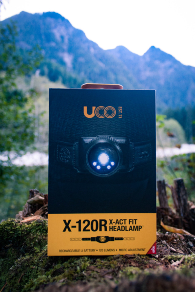 UCO X-120R X-ACT FIT Headlamp – Gear Review